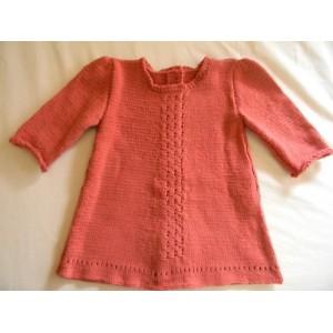 Vestitino bambina ad uncinetto