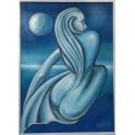 Quadro Sirena Blu
