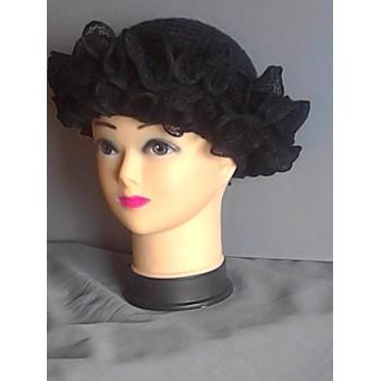 Cappello lana merinos a uncinetto