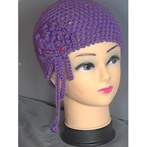 Cappello uncinetto lana merinos