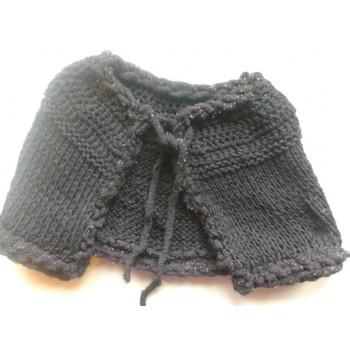 Mantellina in misto lana