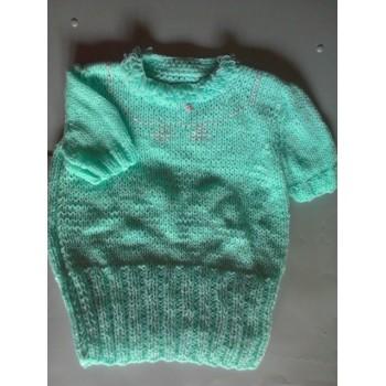 Maglioncino mezza manica di lana