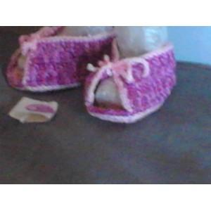 Scarpine neonata ad uncinetto