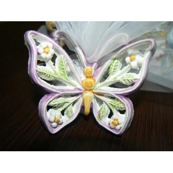 Farfalla in ceramica