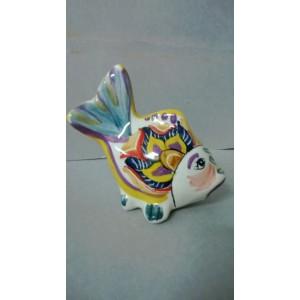 Pesci d'appoggio in ceramica