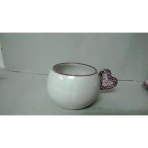 TAZZA AMORE in ceramica